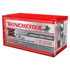 Winchester Super-X .17 Hornady Magnum Rimfire (HMR) 20 Gr. XTP Jacketed Hollow Point- Box of 50