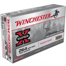 Winchester Super-X .264 Winchester Magnum 140 Gr. Power-Point- Box of 20