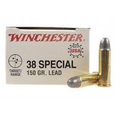Winchester .38 Special 150 Gr. Lead RN- Box of 50