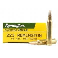 Remington Express .223 Remington 55 Gr. Pointed Soft Point R223R1