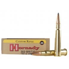 Hornady Custom .303 British 150 Gr. InterLock Spire Point 8225