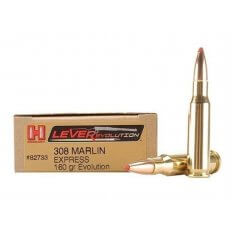 Hornady LEVERevolution .308 Marlin Express 160 Gr. FTX- Box of 20