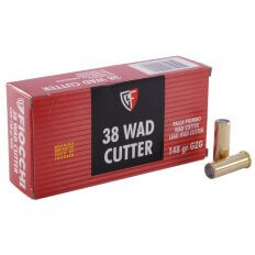 Fiocchi Shooting Dynamics .38 Special 148 Gr. Lead Wadcutter- Box of 50