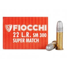 Fiocchi Exacta Pistol Super Match .22 Long Rifle 40 Gr. Lead Round Nose