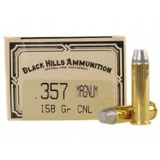 Black Hills Cowboy Action .357 Magnum 158 Gr. Lead Conical Nose- Box of 50