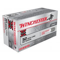 Winchester Super-X .32 S&W Long 98 Gr. Lead Round Nose- Box of 50