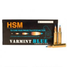 HSM Varmint Blue .223 Remington 55 Gr. Sierra BlitzKing Blue Thrill Polymer Tip HSM-223-54-N