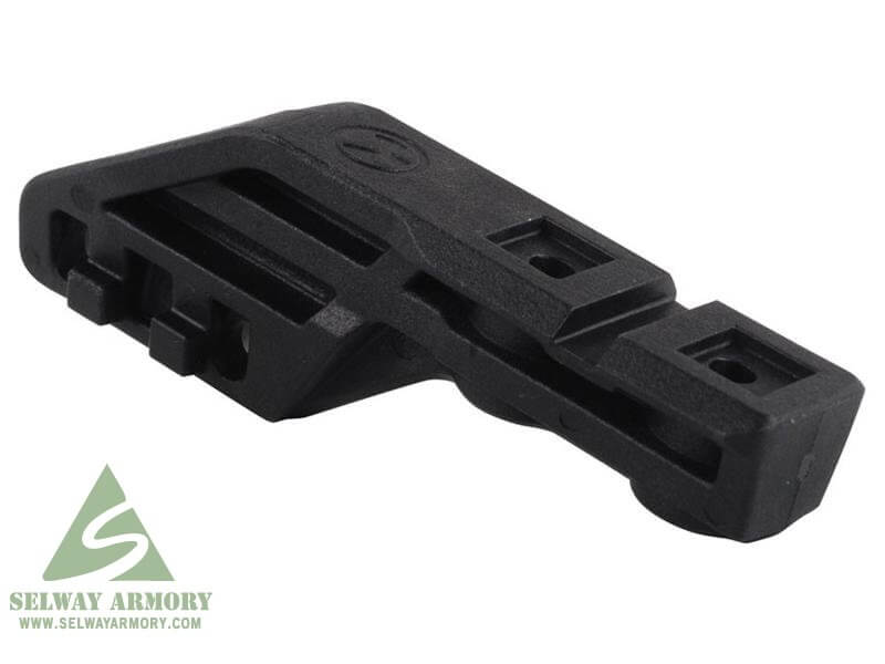 Magpul MOE Scout Mount Picatinny Rail Flashlight Attachment Point Fits MOE AR-15 Handguards & Remington 870 Forends Polymer- Black- Left