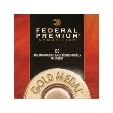 Federal Premium Gold Medal Large Rifle Magnum Match Primers #215M