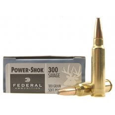 Federal Power-Shok .300 Savage 180 Gr. Soft Point 300B