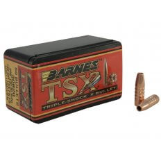 Barnes Bullets .30-30 Caliber (.308 Diameter) 150 Gr. TSX Flat Nose- Lead-Free- Box of 50
