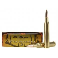 Federal Fusion .25-06 Remington 120 Gr. Spitzer Boat Tail- Box of 20