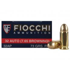 Fiocchi Shooting Dynamics .32 ACP 73 Gr. Full Metal Jacket- Box of 50