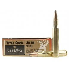 Federal Premium Vital-Shok Ammunition 30-06 Springfield 165 Gr. Sierra GameKing Soft Point Boat Tail Box of 20