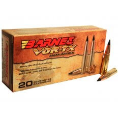 Barnes VOR-TX .300 AAC Blackout 120 Gr. TAC-TX Boat Tail- Box of 20