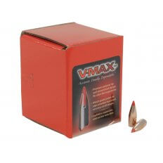 Hornady Bullets .243 Caliber/ 6mm (.243 Diameter) 58 Gr. V-Max Boat Tail- Box of 100