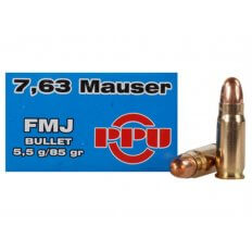 Prvi Partizan .30 Mauser (7.63 Mauser) 85 Gr. Full Metal Jacket- Box of 50