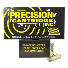 PCI .38-40 Winchester 180 Gr. Lead Round Nose Flat Point- Box of 50