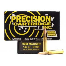PCI 7mm Mauser (7x57mm) 140 Gr. BTSP- Box of 20