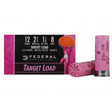 "Federal Top Gun 12 Gauge 2-3/4"" 1-1/8 oz #8 Shot Pink Hull- Box of 25"