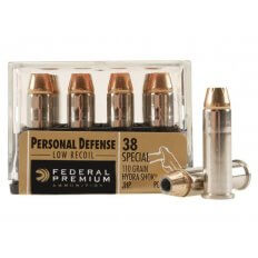 Federal Premium Personal Defense .38 Special 110 Gr. Reduced Recoil Hydra-Shok JHP- Box of 20