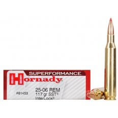 Hornady SUPERFORMANCE .25-06 Remington 117 Gr. SST InterLock- Box of 20