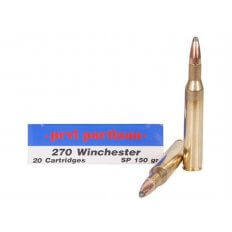 Prvi Partizan .270 Winchester 150 Gr. Soft Point- Box of 20