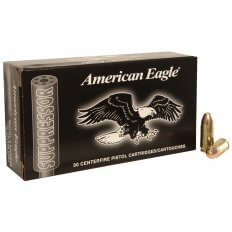 Federal American Eagle 9mm 124 Gr. Full Metal Jacket- Subsonic AE9SUP1
