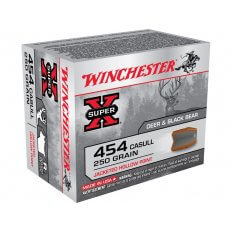 Winchester Super-X .454 Casull 250 Gr. Jacketed Hollow Point X454C3