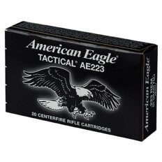 Federal American Eagle .223 Remington 55 Gr. Full Metal Jacket Boat Tail- Box of 20