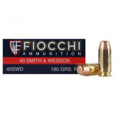 Fiocchi Shooting Dynamics .40 S&W 180 Gr. Flat Nose- Box of 50