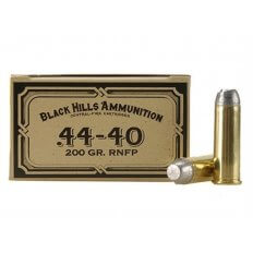 Black Hills .44-40 WCF Cowboy Action 200 Gr. Lead Flat Nose- Box of 50
