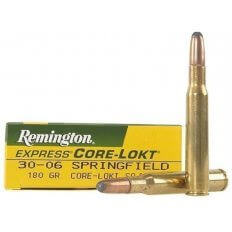 Remington Express .30-06 Springfield 180 Gr. Core-Lokt Soft Point- Box of 20