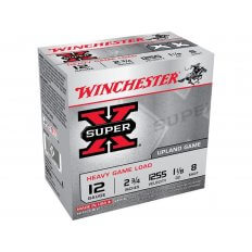 "Winchester Super-X Heavy Game Load 12 Gauge 2-3/4"" 1-1/8 oz #8 Shot- Box of 25"