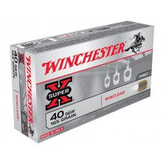 Winchester USA WinClean .40 S&W 165 Gr. Brass Enclosed Base WC401