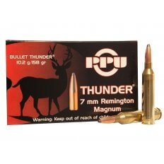 Prvi Partizan Thunder 7mm Remington Magnum 158 Gr. GROM Soft Point- Box of 20