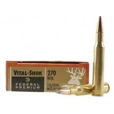 Federal Premium Vital-Shok .270 Winchester 130 Gr. Nosler Partition- Box of 20