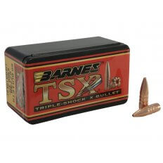 Barnes Bullets 6.8mm Remington SPC (.277 Diameter) 110 Gr. TSX Hollow Point Boat Tail- Lead-Free- Box of 50