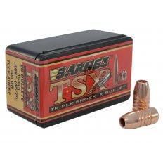 Barnes Bullets .45-70 Caliber (.458 Diameter) 300 Gr. Triple-Shock X Flat Nose- Lead-Free 30630