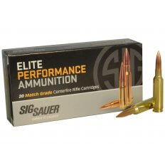 SIG SAUER Elite Performance 6.5 Creedmoor 140 Gr. Open Tip Match- Box of 20