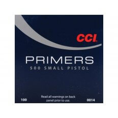 CCI Small Pistol Primers #500- Box of 1000 (HAZMAT Fee Required)