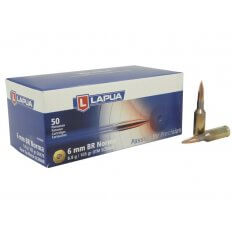 Lapua Scenar 6mm Norma BR (Bench Rest) 105 Gr. Hollow Point Boat Tail- Box of 50