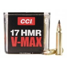 CCI .17 HMR 17 Gr. Hornady V-Max- Box of 50