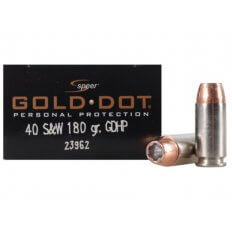 Speer Gold Dot .40 S&W 180 Gr. Jacketed Hollow Point 23962
