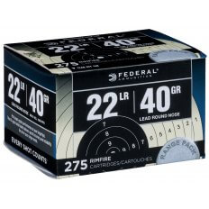 Federal Target Pack .22 Long Rifle 40 Gr. Lead Round Nose 729