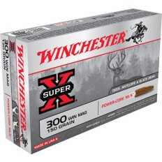 Winchester Super-X Power-Core 95/5 .300 Winchester Magnum 150 Gr. Hollow Point Boat Tail- Lead-Free- Box of 20