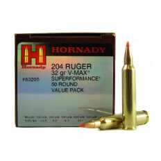 Hornady SUPERFORMANCE Varmint .204 Ruger 32 Gr. V-Max- Box of 50