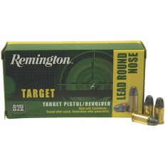 Remington Target .32 S&W Long 98 Gr. Lead Round Nose- Box of 50