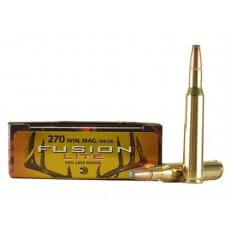 Federal Fusion Lite .270 Winchester 145 Gr. Spitzer Boat Tail- Box of 20