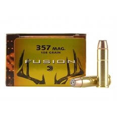 Federal Fusion .357 Magnum 158 Gr. Jacketed Hollow Point- Box of 20